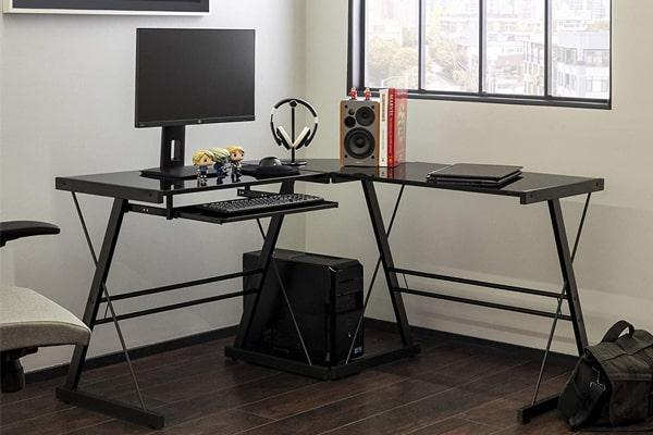 沃克·爱迪生家具Soreno金属转角电脑桌