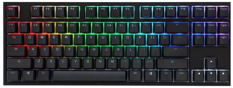 Ducky One 2 RGB TKL全能机械键盘
