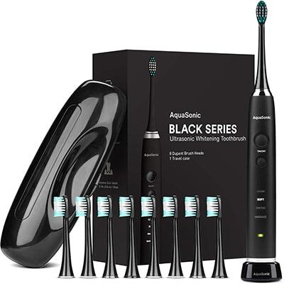 AquaSonic Black Series Ultra Whitening电动牙刷