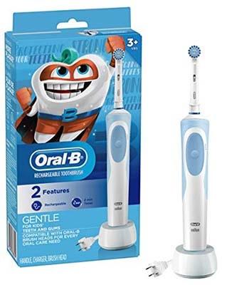 Oral-B儿童电动牙刷 - 最好的儿童电动牙刷