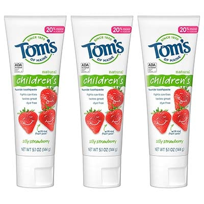 Tom's of Maine儿童牙膏