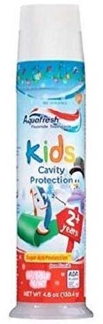 Aquafresh儿童防蛀牙泡泡薄荷牙膏