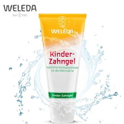 维蕾德(weleda)儿童防蛀牙膏