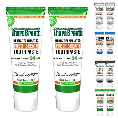 TheraBreath牙膏